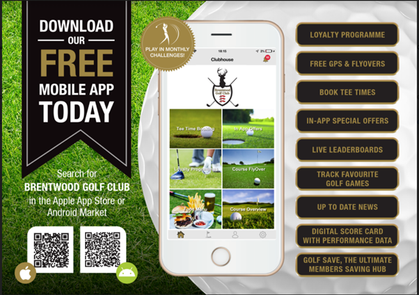 Brentwood Golf Club App
